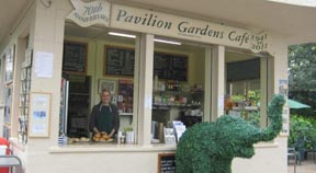 Mayor to hold charity event at Pavilion Gardens Cafe