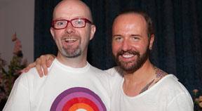 Gogglebox star donates winnings to local gay chorus