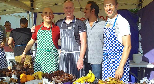 Lunch Positive raises £3,211.50 at Pride