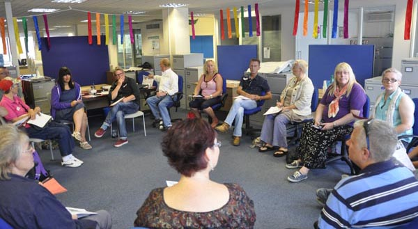 First LGBT Community Groups Network meeting a huge success