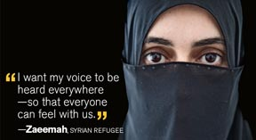 Syria's women and girls plead for change from international community