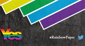 Scottish gay rights campaigners urge 'Vote yes for equality'