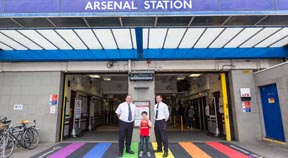 Transport for London supports Stonewall, Rainbow Laces Campaign