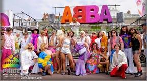 Gay choir win 'Best Community Float' award