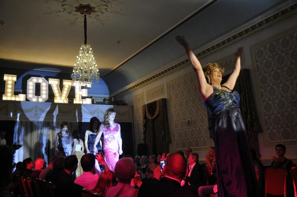 London entertainers support first Brighton Frocks benefit night