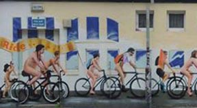 Urban mural to brighten up Hove