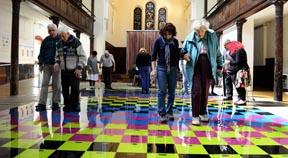 Art installation lives on in older residents' homes