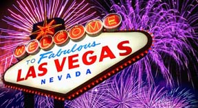 Visitors from six continents to celebrate New Year on the Las Vegas Strip