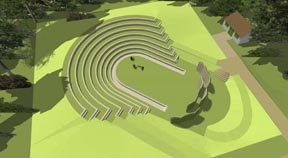 Open air theatre gets go ahead on Dyke Road bowls site