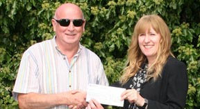 Local taxi firm raises over £5,000 for the Martlets