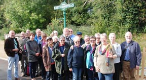 OLDER & OUT visit Bluebell Railway