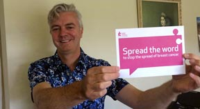 Local MP helps breast cancer campaign
