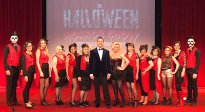 Biggins steals the show at Sussex Beacon 'spooktacular' fundraiser