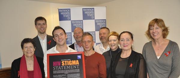 THT launch HIV STIGMA statement