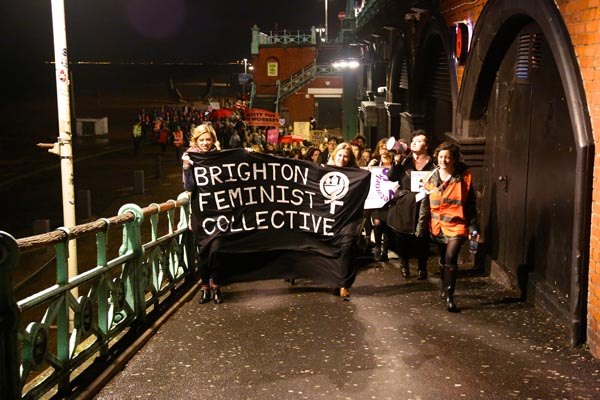 'Reclaim the Night' march returns to city streets