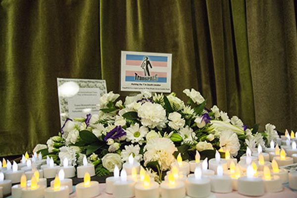 Transgender victims remembered in Croydon