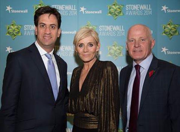 Lord Cashman, Pepe Julian Onziema and Sarah Waters lead 2014 Stonewall Award winners