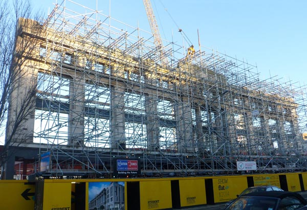 Building company fined for noisy construction work