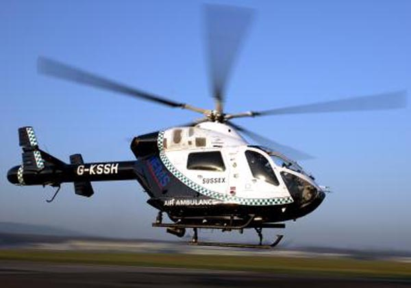 Bank fines to help fund air ambulance service