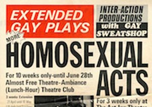 PREVIEW: Benefit Gala to Commemorate 40th anniversary of first gay theatre season in Britain