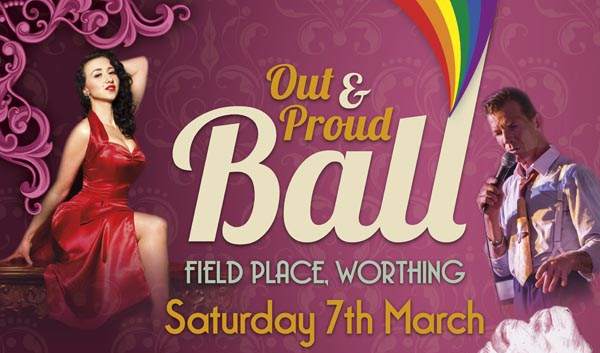 'Out and Proud' Ball returns to Worthing in March