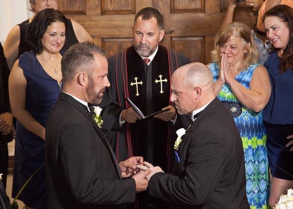 Florida celebrates first same sex marriage