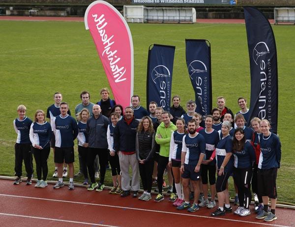 Olympic legends host training day ahead of Brighton Half Marathon