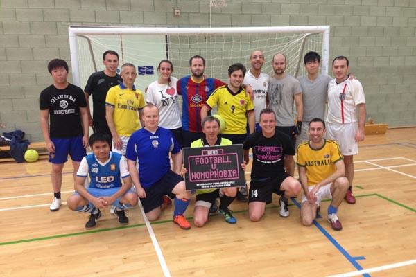 FOOTBALL UPDATE: Brighton BLAGSS win friendly match