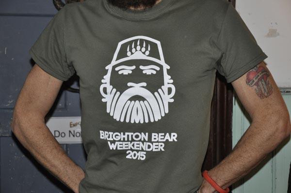 Brighton Bear Weekender reveal logo for 2015