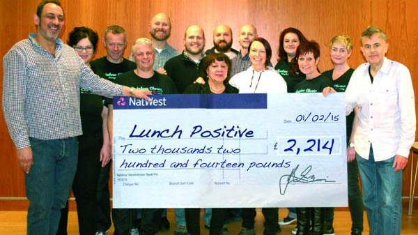 World Aids Day Concert raises £2,214 for Lunch Positive