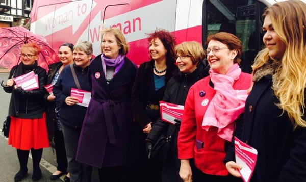 Labour launches biggest ever women's campaign: Woman to Woman