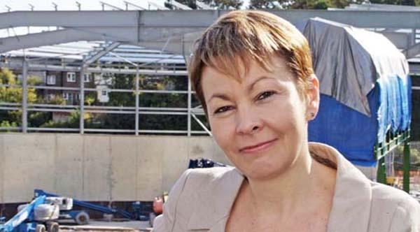 Caroline Lucas to open Brighton Vegfest 2015