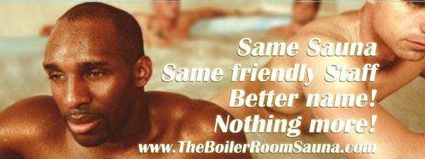Hove sauna rebrands as 'The Boiler Room'