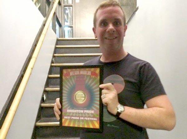 Brighton Pride scoops Best Pride or Festival in Boyz Magazine Awards