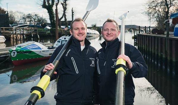 Gay pairing to broadcast Atlantic row live in world first