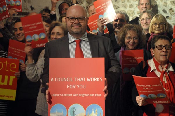 Labour launch manifesto for May local elections