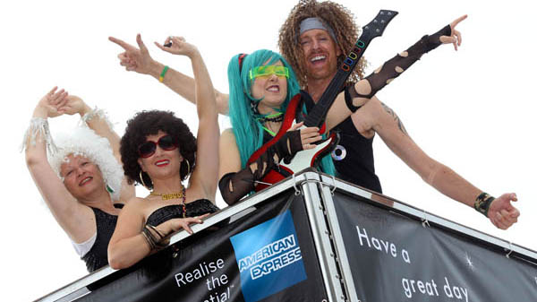 AMERICAN EXPRESS® becomes Gold Partner of Brighton Pride 2015