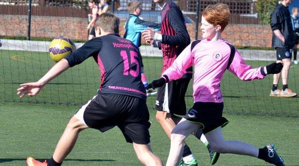 'Tackle Homophobia' in Football