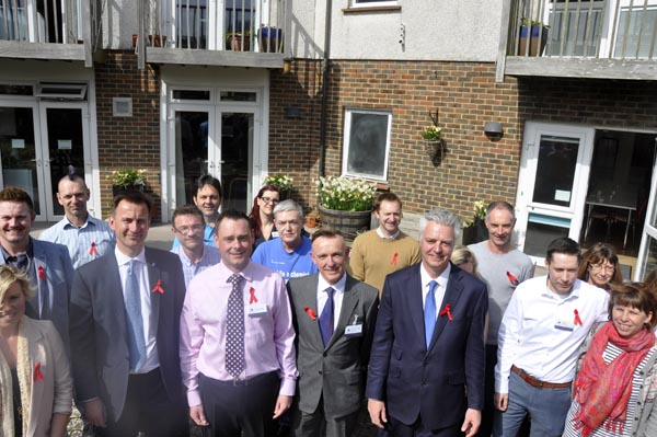 Health Minister visits Sussex Beacon