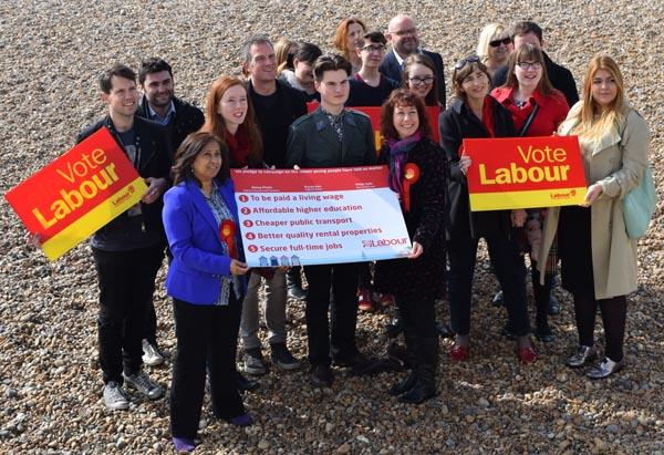 Labour launch 'youth pledge'