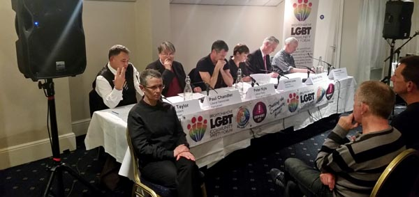LGBT Hustings – All candidates present support proposal for NHS Gender Clinic in Brighton
