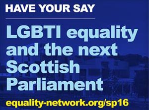 LGBTI equality and the next Scottish election