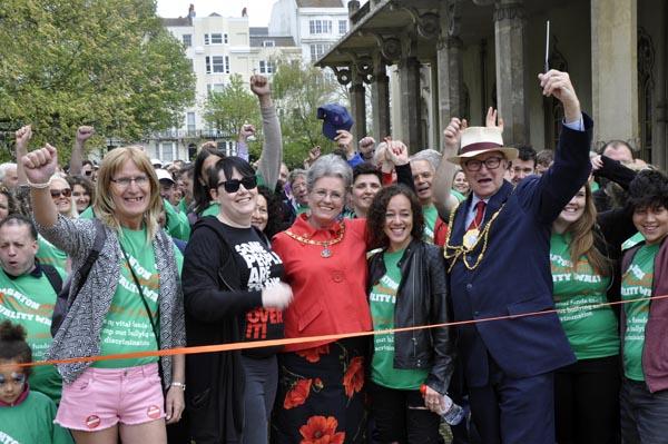 Brighton Stonewall 10k Equality Walk raises more than £43,000