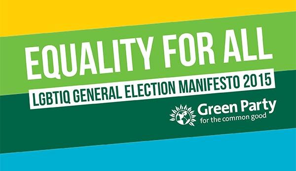 Green Party launch national LGBTIQ Manifesto in Soho