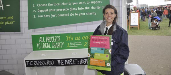 Co-operative support local charities at 'Foodie Festival'