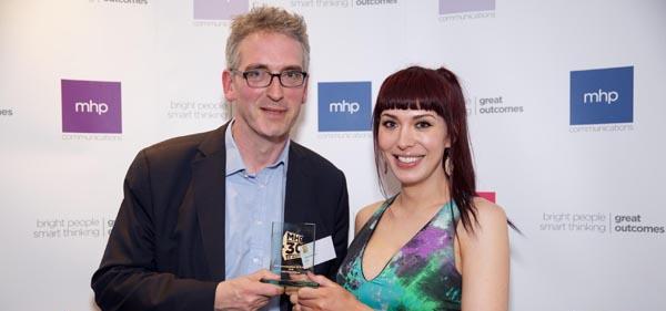 Paris Lees scoops top award
