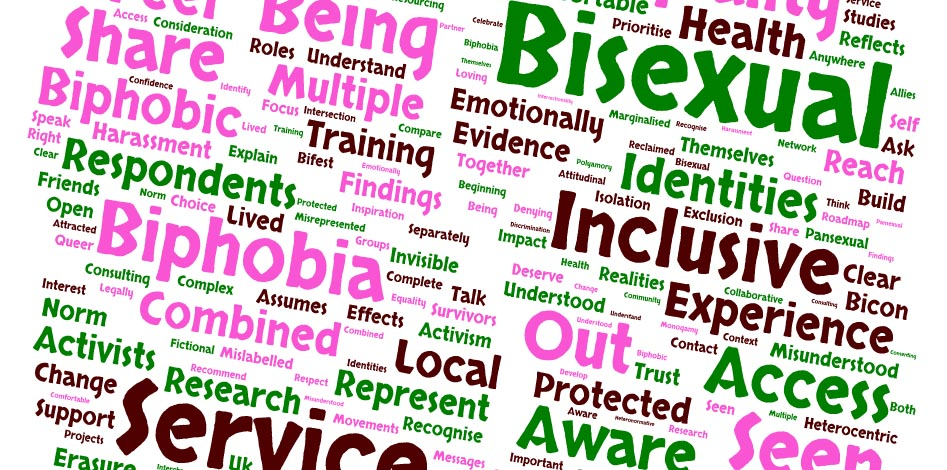 Report highlights bisexuals experience prejudice when accessing LGBT services