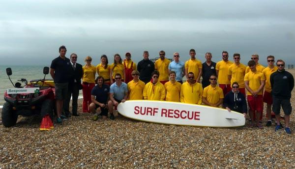 Lifeguards take up their posts on Brighton beaches