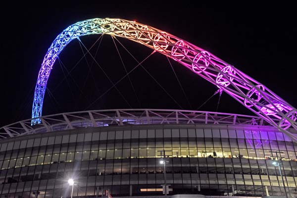 London landmarks to be lit up in rainbow colours