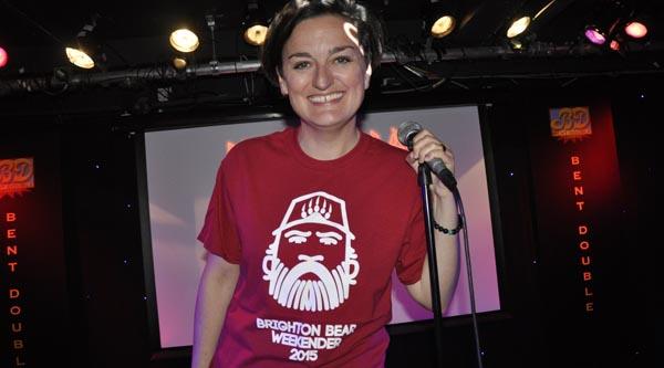 Zoe Lyons starts countdown to Brighton Bear Weekender
